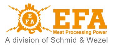 EFA | Urządzenia do uboju i przetwórstwa mięsnego